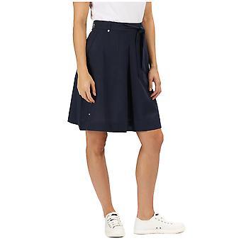 Regata las mujeres Dylana Coolweave algodón lino verano falda