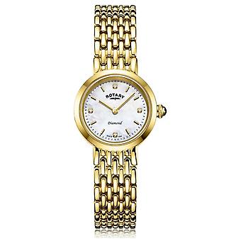 Rotary | Ladies Gold Bracelet | Mother of Pearl Dial LB00900/41/D Watch