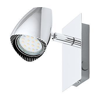 Eglo - Corbera LED Chrome Retro Perete Spot Lumina EG93672