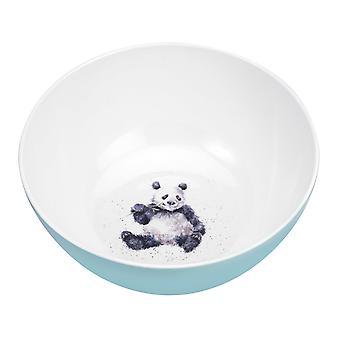 Wrendale mallit Panda Melamiini tarjoilukulhoon