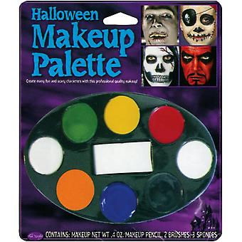Halloween maquillage plateau 8 couleurs