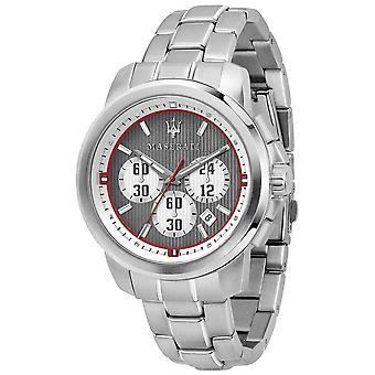 Maserati Royale Chronograph Grey Dial Stainless Steel Bracelet R8873637003 Watch