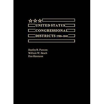 الولايات المتحدة مقاطعات الكونغرس 17881841 حسب بارسونز & باء ستانلي