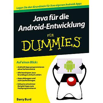 Java fur Android-Entwickler Fur Dummies by Barry A. Burd - 9783527709