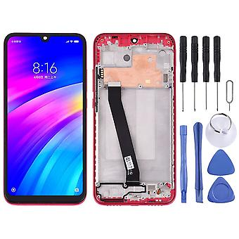 For Xiaomi Redmi 7 Display Full LCD Unit Touch with Frame Repair Red New
