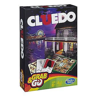 Hasbro Gaming Grab And Go Cluedo Game Perfect For Travel Games