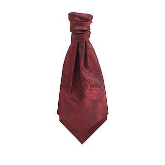 Dobell Bourgondië Paisley Cravat