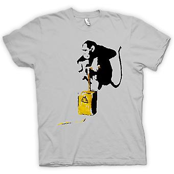 子供 t シャツ - バンクシー グラフィティ - 猿の爆撃機