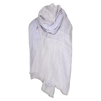 Marie Mero Lilac Shimmer Lightweight Long Scarf