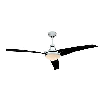 Ceiling fan MIRAGE White / Black with remote