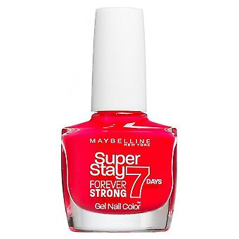 Maybelline Forever sterk super Stay gel Nail 7 dag Wear-Rose Salsa 10ml (490)