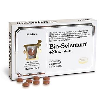Pharmanord bio-selenium + zink (+ Vit C; E en B6) tabs 90