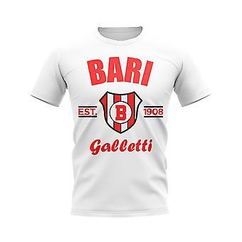 Bari etablerte fotball T-skjorte (hvit)