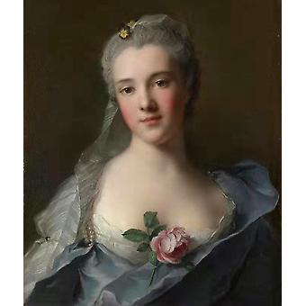 Manon Balletti, Jean Marc Nattier, 54x 47.5 cm