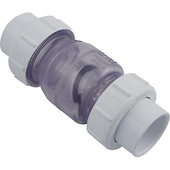 "Flo Control 1720C15 Check Valve Swing 1.5"" Slip True Union"