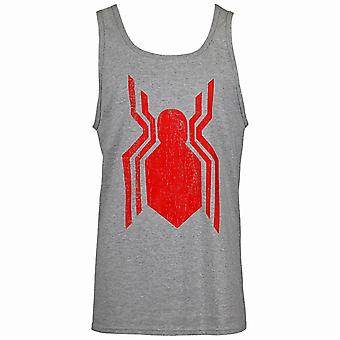 Spider-Man kaukana kotoa symboli Tank Top