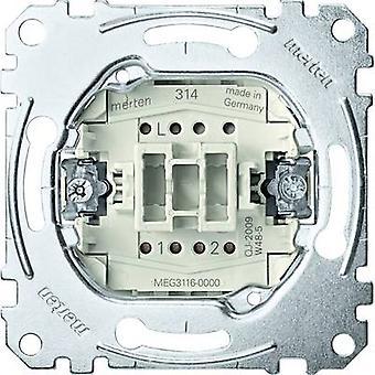 Merten insert circuit breaker, schakelaar systeem M, systeemgebied, Aquadesign MEG3116-0000