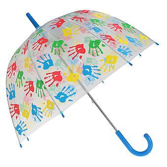 X-brella Childrens/Kids Handprints Umbrella