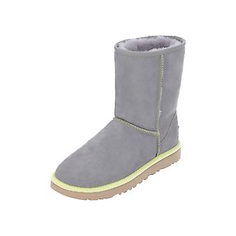 UGG Classic Short II Neon Women's Boots Grey Lace Boots Winter