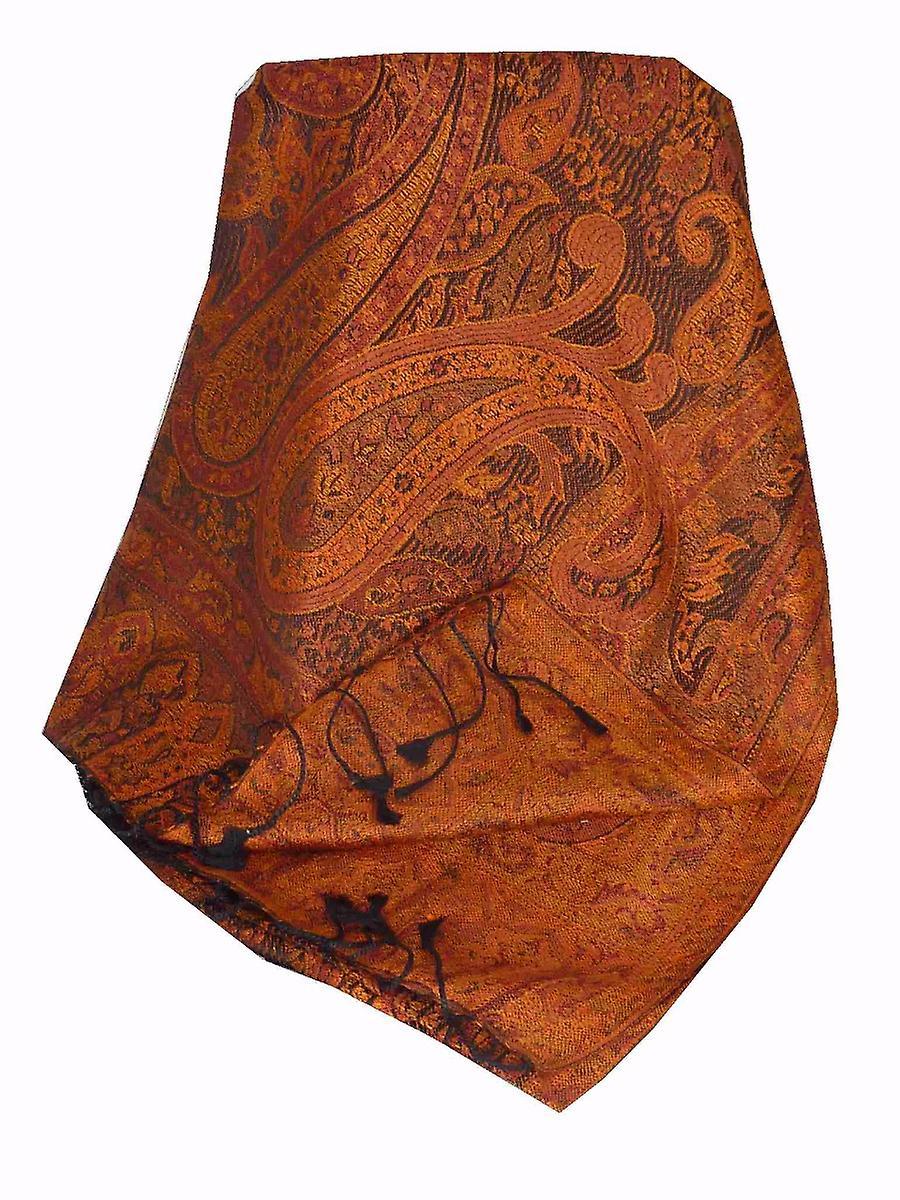 Mens Jamawar Premium Silk Scarf Pattern 6979 by Pashmina & Silk