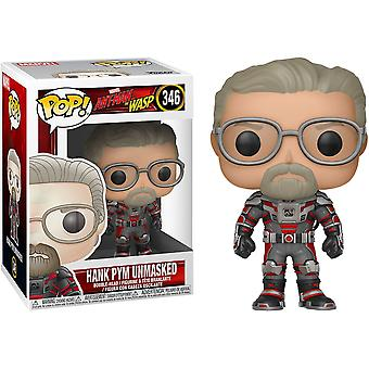 Ant-Man and the Wasp Hank Pym Unmasked US Pop! Vinyl