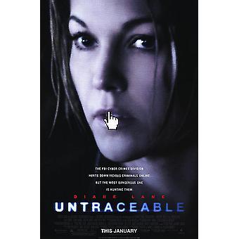 Untraceable (Single Sided Mini Poster) (2008) Original Mini Cinema Poster