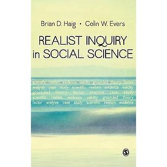 Realist Inquiry in Social Science by Haig & Brian D