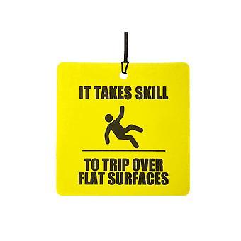 É preciso habilidade para viagem sobre superfícies planas refrogerador de ar de carro