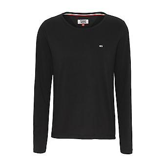 T-Shirt Baumwolle Uni Dw0dw06900 - Tommy Jeans
