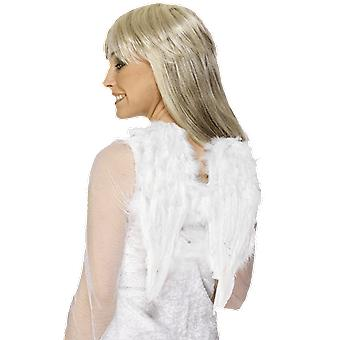Black Feather Dark Angel Wings Fancy Dress Costume Accessory
