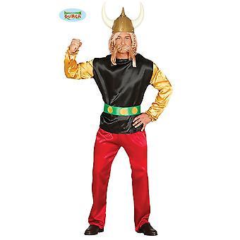 Kleine Gallische stripboek Warrior kostuum mens Gallier kostuum