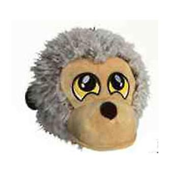 "Petlou 9"" PL Fuzzy Ball Monkey Dog Toy"
