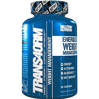 Evlution Nutrition Trans4orm Thermogenic Fat Burner 120 Capsules