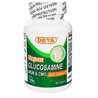 Vegan - Glucosamin - MSM & CMO (90 Tabletten) - Deva