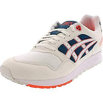 ASICS Tiger Men's Gel-Saga Shoes, 8.5M, White/Flash Coral