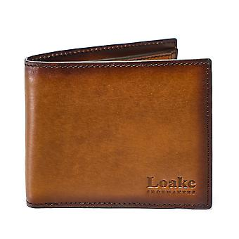 Loake Burnished Calf Leather Barclay Wallet