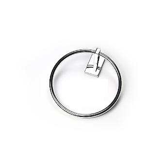 Miriad 944 Chrome Ring Towel Holder