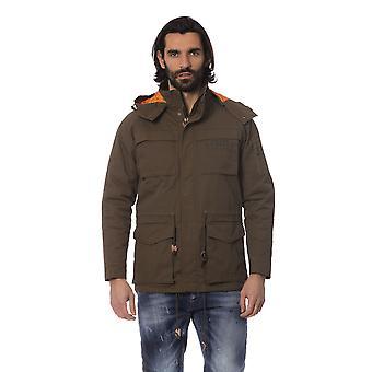 Frankie Morello Man Military Green Jacket