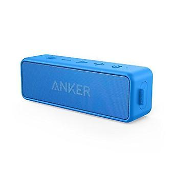 ANKER SoundCore 2 Wireless Soundbar Speaker Wireless Bluetooth 4.2 Speaker Box Blue