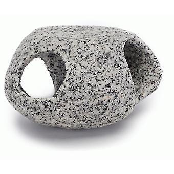 Sandimas Lithiumsteinloch G (10,16 cm) (Fische , Aquariumsdeko , Felsen und Höhlen)
