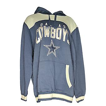 NFL Women's Dallas Pullover Hoodie And T-Shirt Combo Blue A376690