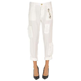 Mason's Ezgl303020 Women's White Other Materials Pants