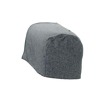 Pewter Wool Effetto Armo Cappuccio Sedia Cover Protector Slipcover Sofa Antimacassar