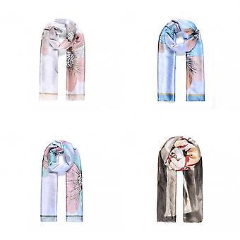 Intrigue Womens/Ladies Silk Like Floral Scarf