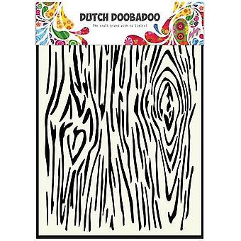Dutch Doobadoo A5 Mask Art Stencil - Woodgrain #470715102