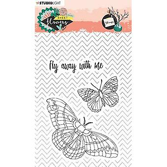 Studio Light Sweet Flowers Clear Stamps-NR. 437