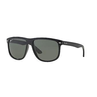Ray-Ban RB4147 601/58 svart/polariserad kristall grön solglasögon