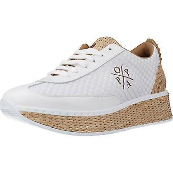 Menorquinas Popa Sport / Sneakers D10101 Color Blanbeig