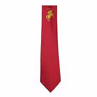 Masonic regalia tie with lodge logo