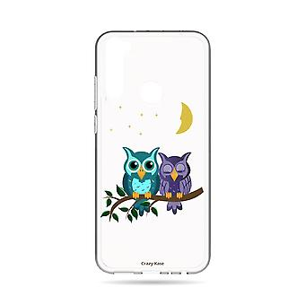 Hull For Xiaomi Redmi Note 8t Soft Owls In Moonlight